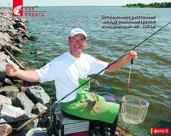 матчевая рыбалка на глубине